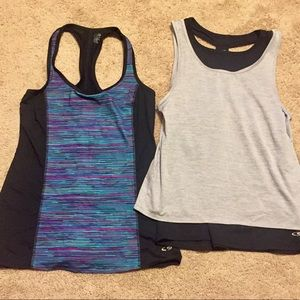BUNDLE! (2) C9 Duo Dry Racerback Activewear Tanks!